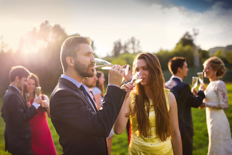 What do you need to think about when planning a wedding?